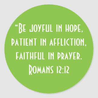 """Be Joyful"" Craft Stickers"