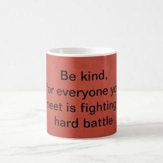 Be Kind Basic White Mug