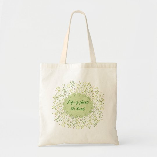 Be Kind Quote Tote Bag