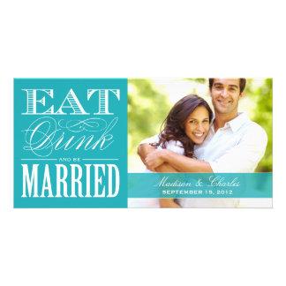 & BE MARRIED   SAVE THE DATE ANNOUNCEMENT CARD