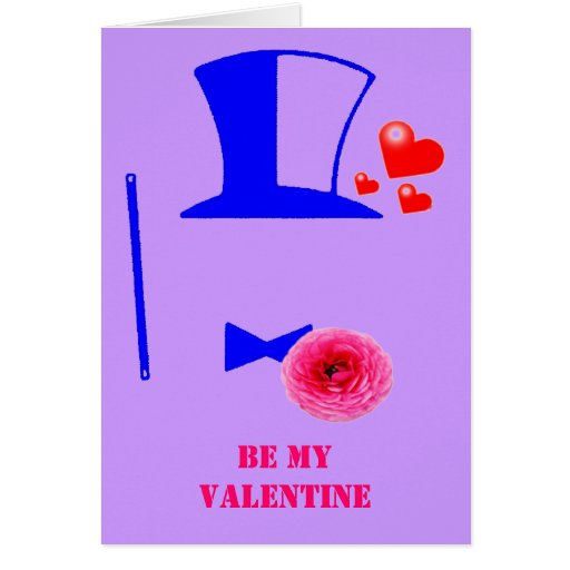 BE MY VALENTINE ~ CARD FROM A SECRET ADMIRER!