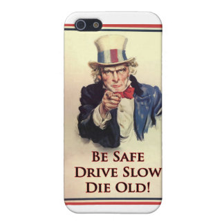 Be Safe Uncle Sam Poster Cover For iPhone 5/5S