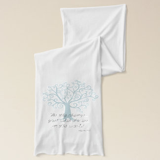 Be the Change Tree Scarf