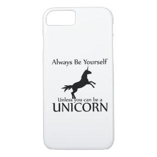 Be Yourself Unicorn iPhone 7 Case