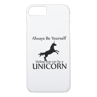 Be Yourself Unicorn iPhone 8/7 Case