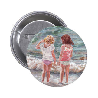 Beach Babies 6 Cm Round Badge
