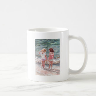 Beach Babies Basic White Mug