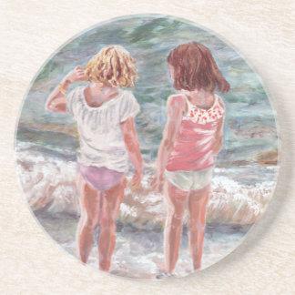 Beach Babies Coaster