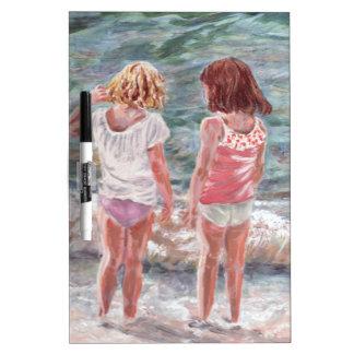 Beach Babies Dry Erase Board