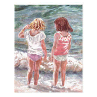 Beach Babies Personalised Letterhead
