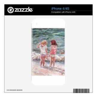 Beach Babies Skin For iPhone 4