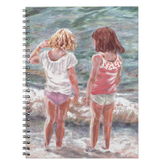 Beach Babies Spiral Note Books