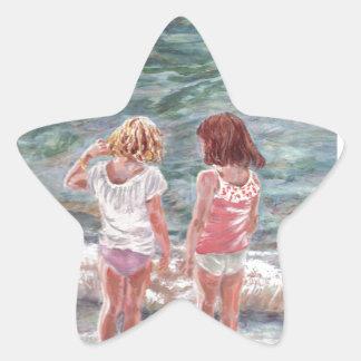 Beach Babies Star Sticker