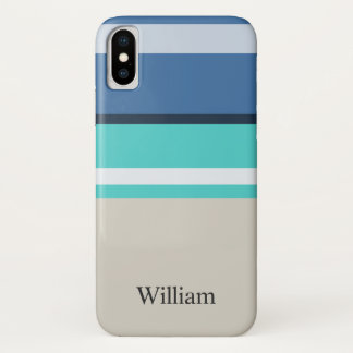Beach Bars iPhone X Case