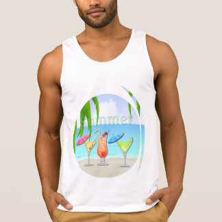 Beach Beach Summer Cocktails T-Shirts