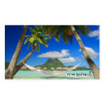 beach bora unwind Double-Sided standard business cards (Pack of 100)