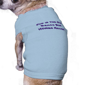 Beach Bum Doggie Tee