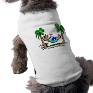 Beach Bum Sleeveless Dog Shirt