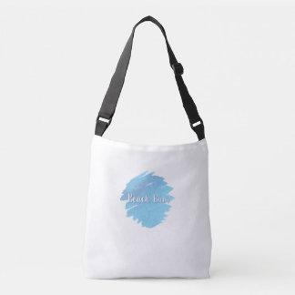 Beach Bum Strap Bag   Nautical Theme Tote Bag
