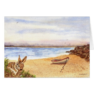 'Beach Bunny' Card