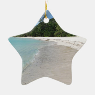 Beach Ceramic Star Decoration
