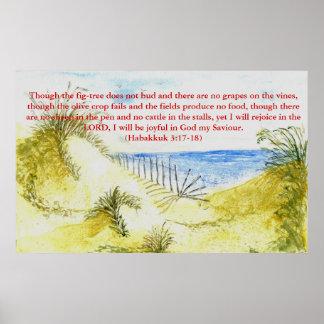 'Beach (Christian)' Poster