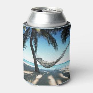 Beach Custom Can Cooler