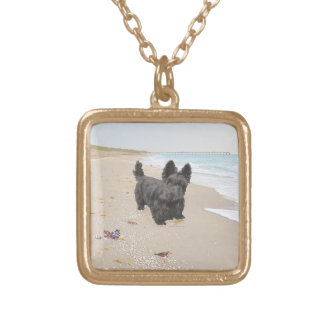 Beach Day Gold Plated Necklace