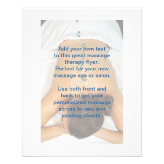 Beach Glass Stones Massage Photo 11.5 Cm X 14 Cm Flyer