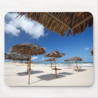 Beach Huts |Brazil Mouse Pad