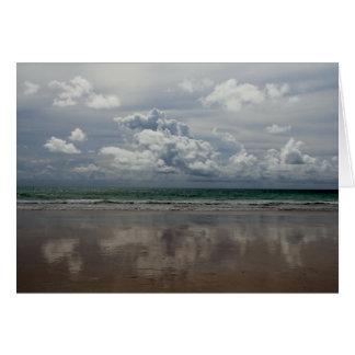 Beach in Australia Card