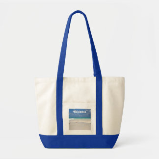 Beach in Columbia Tote Bag