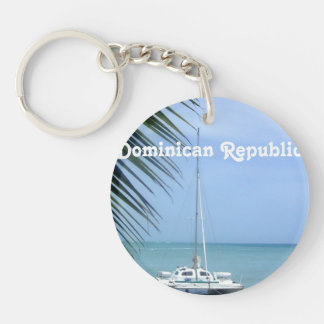 Beach in the Dominican Key Ring