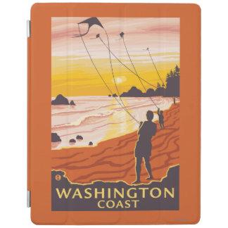 Beach & Kites - Washington Coast iPad Cover