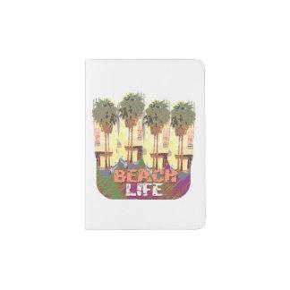 Beach Life Passport Holder