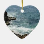 Beach Meets Ocean Christmas Tree Ornament