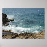 Beach Meets Ocean Print