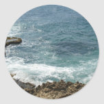 Beach Meets Ocean Stickers