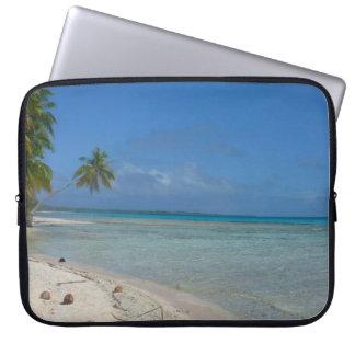 Beach Paradise Laptop Computer Sleeve