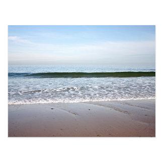 Beach photo postcard