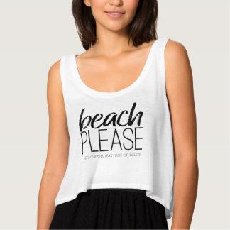 Beach Please Singlet