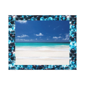 Beach Sea and Salt Water on canvas Gallery Wrap Canvas