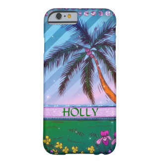 Beach Sparkle Barely There iPhone 6 Case