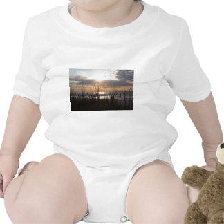 Beach Sunrise Baby Bodysuit