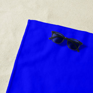 Beach Towel Royal Blue
