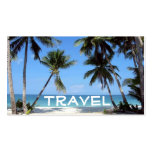 beach, Travel Double-Sided Standard Business Cards (Pack Of 100)
