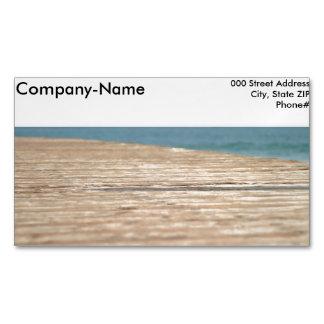 Beach Walk Magnetic Business Card