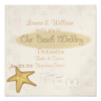 BEACH Wedding Invitations FOR ALL Destinations