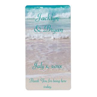 Beach Wedding, Wine, Water, Custom