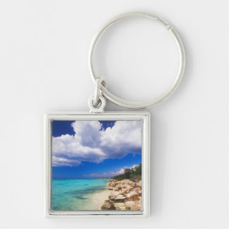 Beaches, Barahona, Dominican Republic, 2 Key Ring